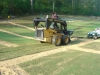 sod laid with skid steer