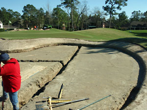 Bunker renovation, The Woodlands