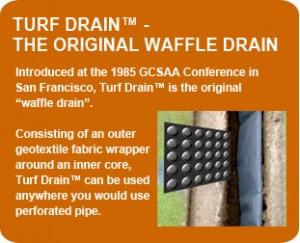 Turf Drain - the ORIGINAL waffle Drain